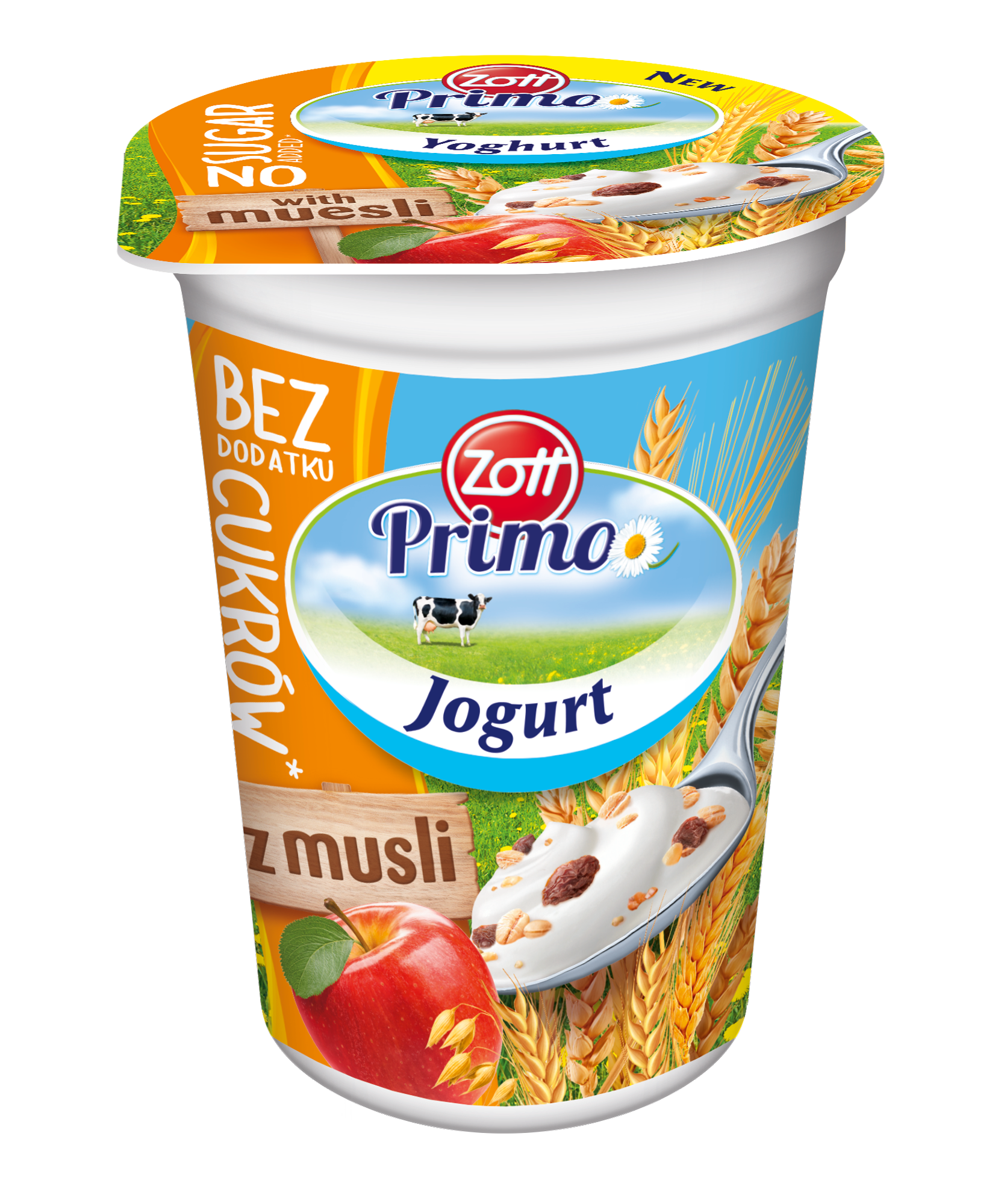 Natural Yoghurts with extras