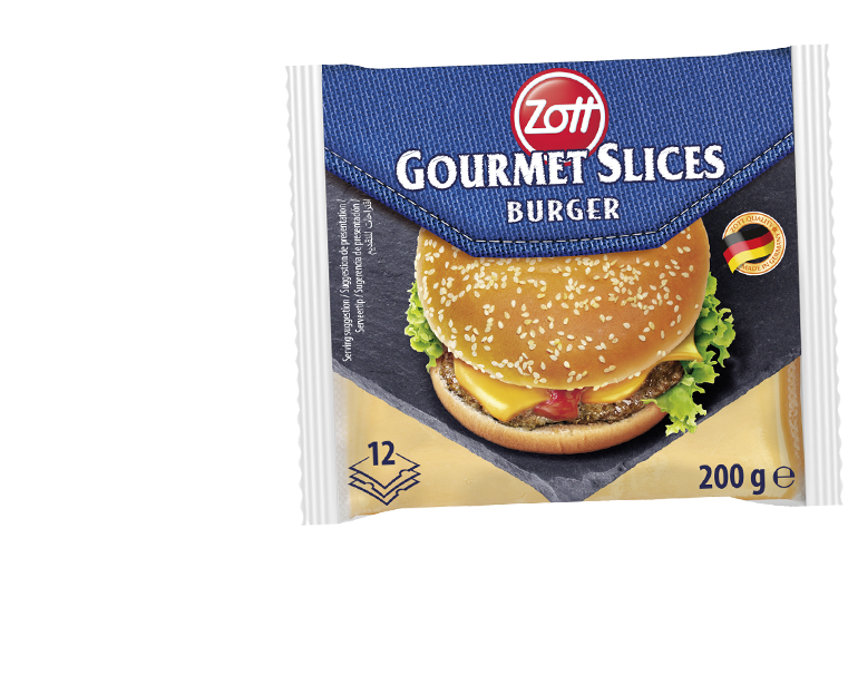 Zott Gourmet Slices Burger