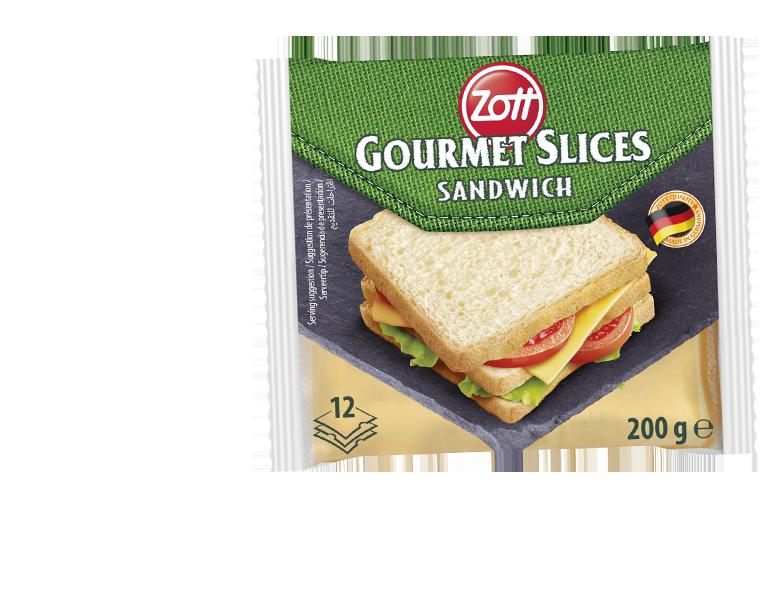 Zott Gourmet Slices Sandwich